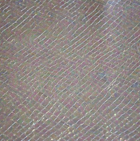 Geprägtes und bedrucktes Leder in Reptiloptik